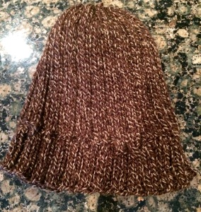 boyfriend hat finished