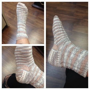 finished first sock
