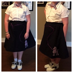 catie poodle skirt 1