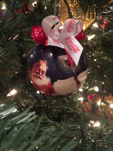 cocacola ornament