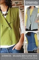 modern silhouette vest